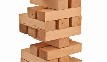 Spiel Holzturm